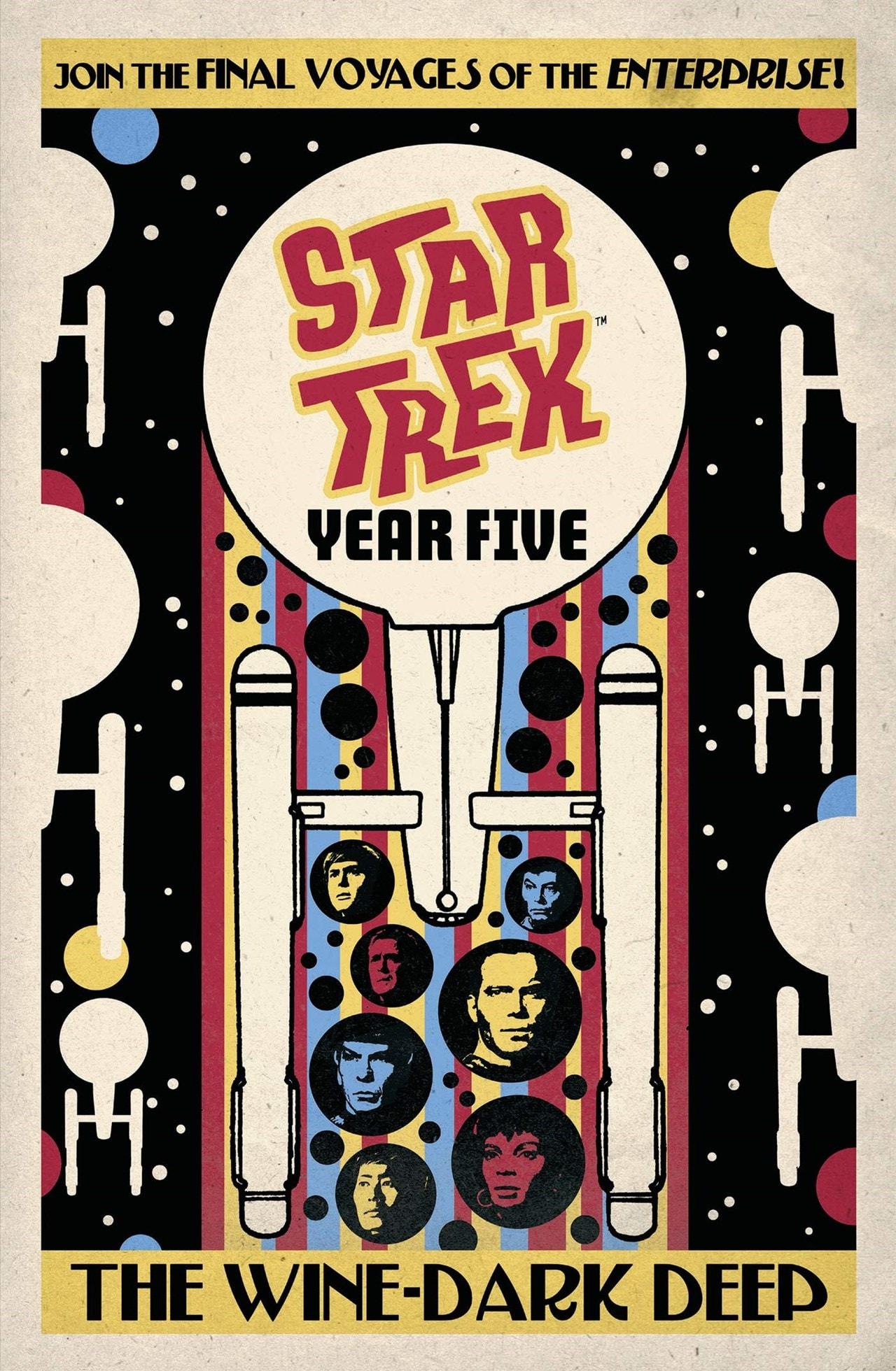 Star Trek: Year Five: The Wine-Dark Deep: Book 2 - 1