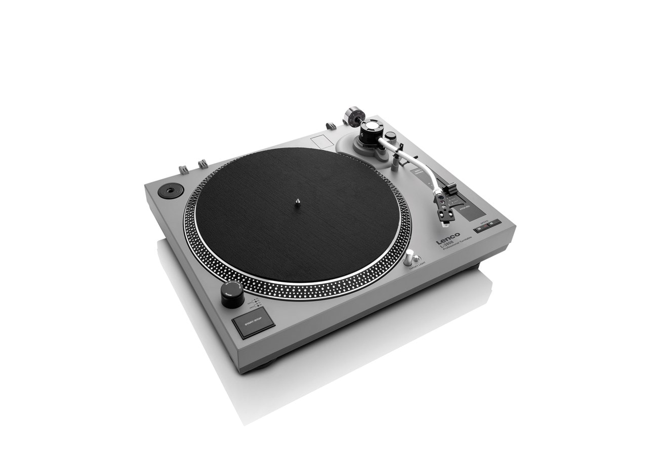 Lenco LS-3808 Matte Grey Direct Drive Turntable - 4