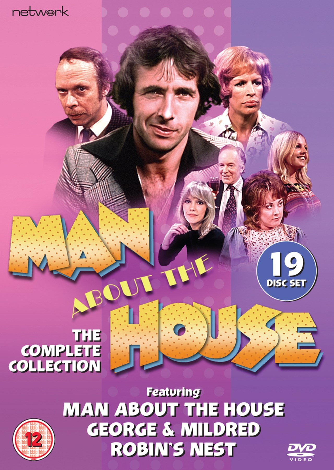 Man About The House The Complete Collection Dvd Box Set Free Shipping Over 20 Hmv Store