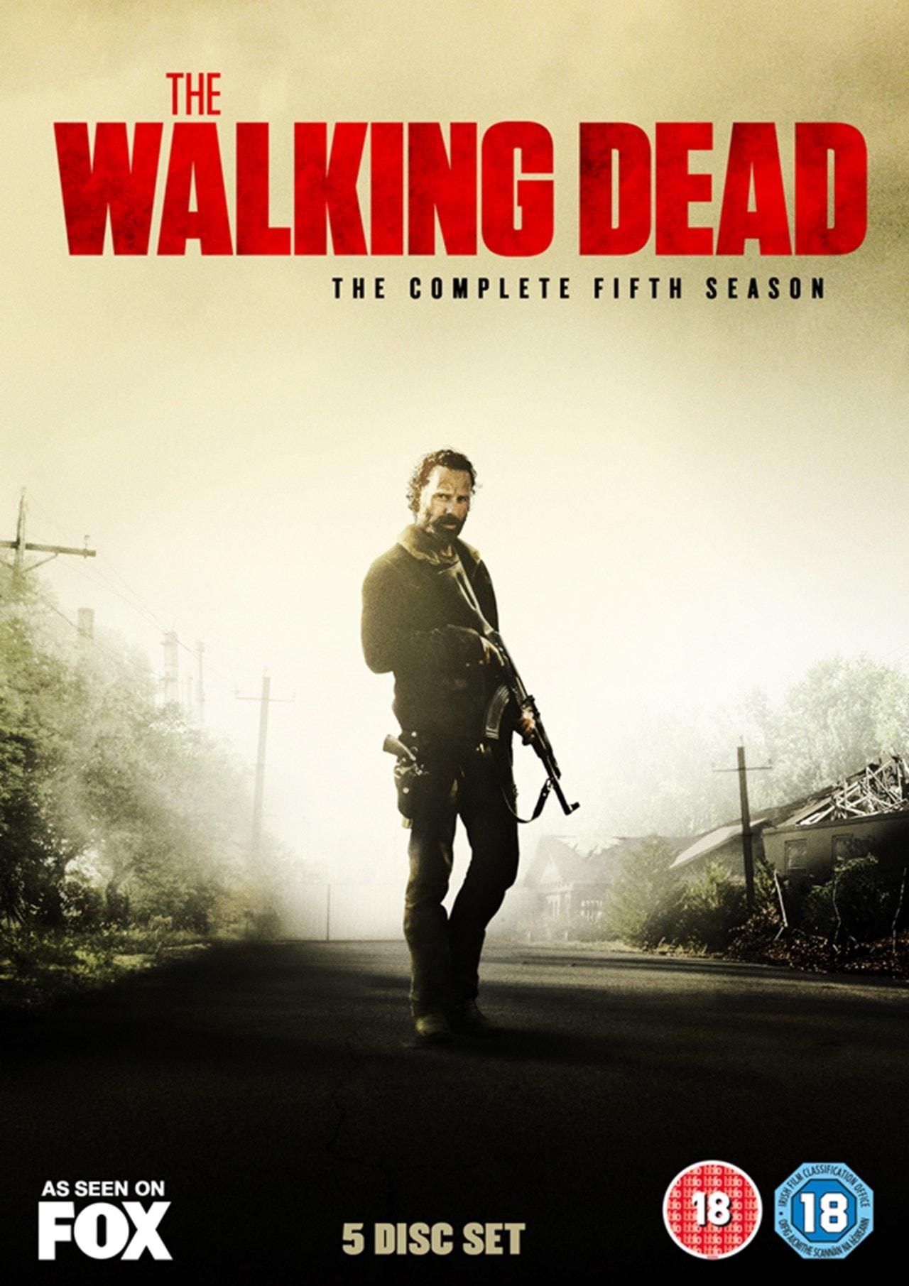 The Walking Dead: The Complete Fifth Season - 1