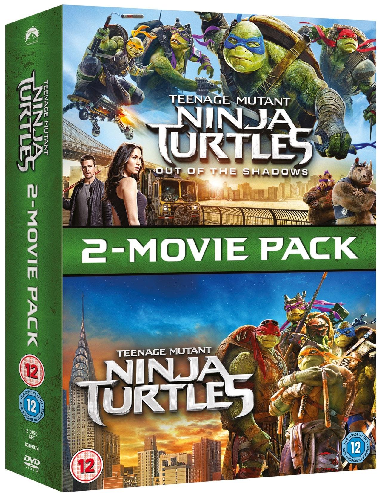 Teenage Mutant Ninja Turtles: 2-Movie Pack - 2