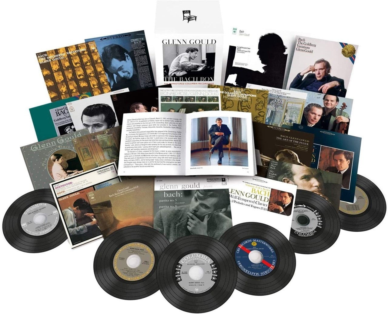 Glenn Gould: The Bach Box - The Remastered Columbia Recordings - 1
