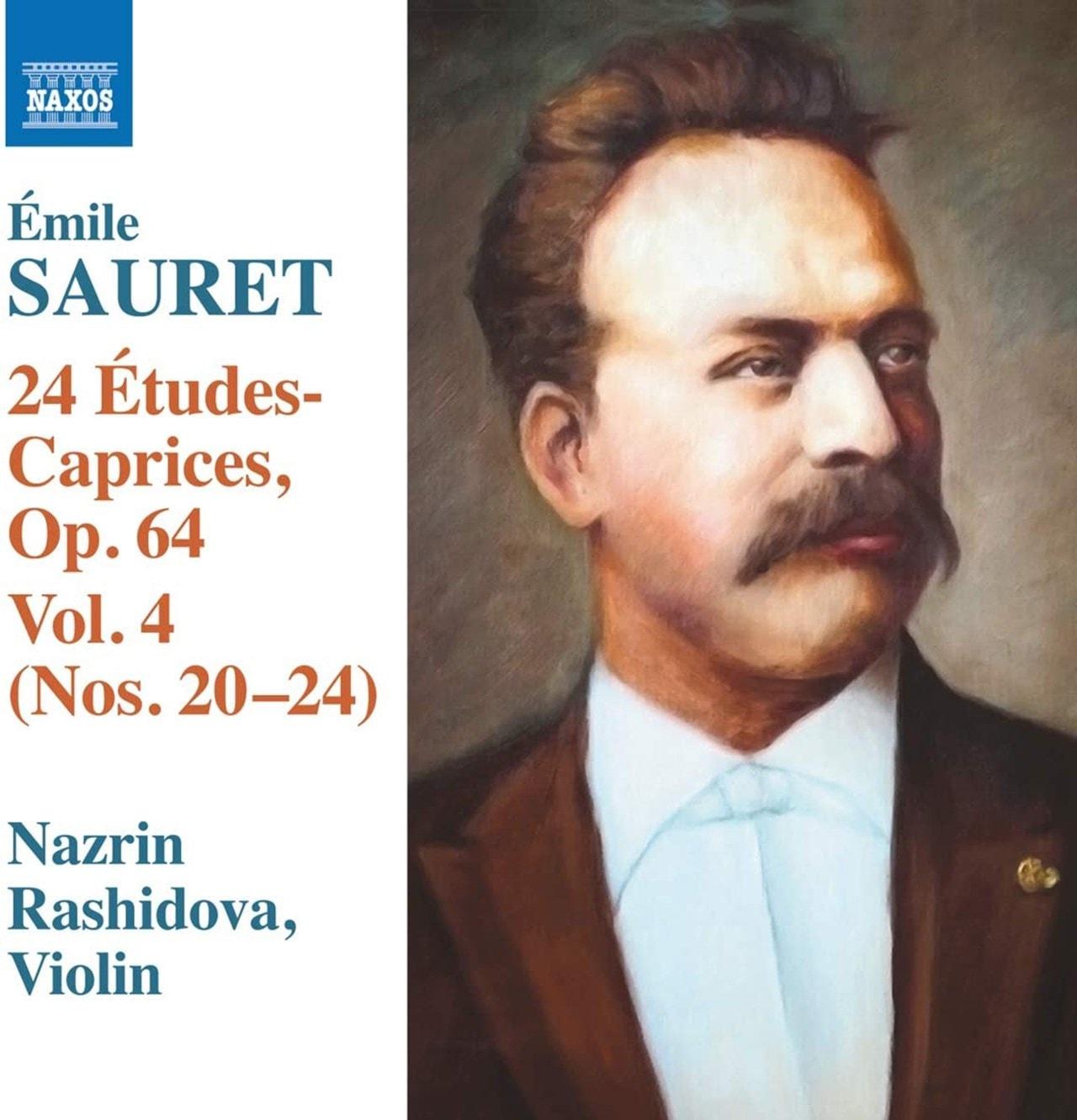 Emile Sauret: 24 Etudes-Caprices, Op. 64: Nos. 20-24 - Volume 4 - 1