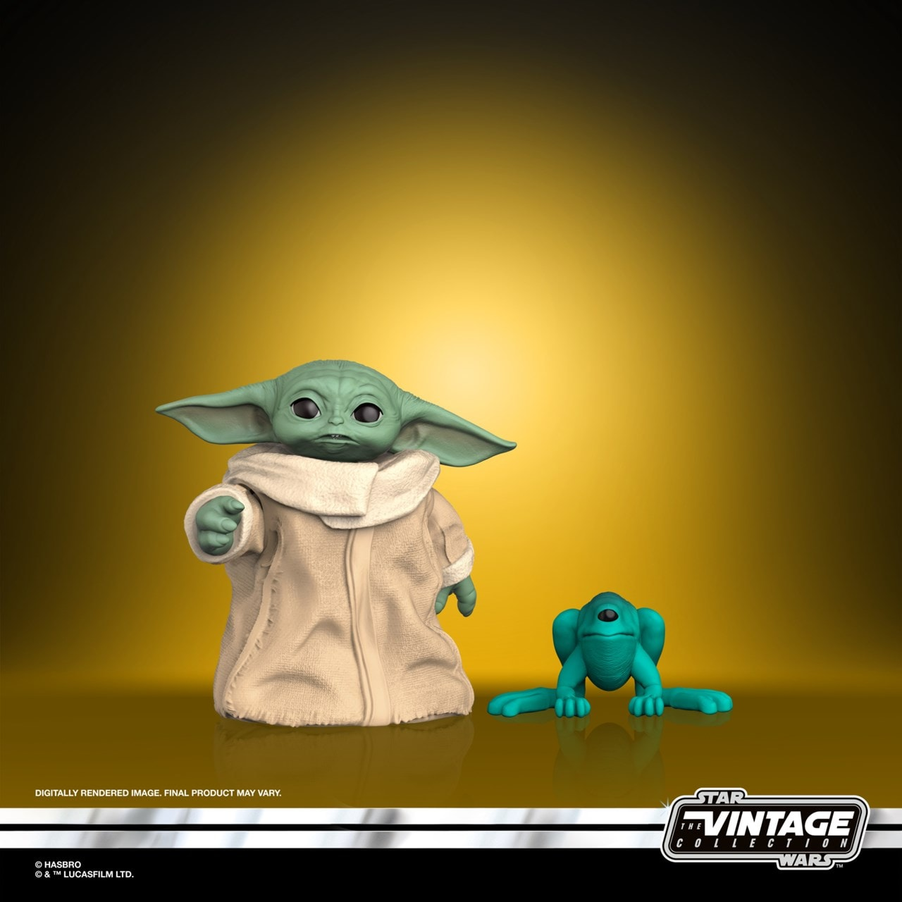 The Child (Baby Yoda): The Mandalorian: Star Wars Vintage Collection Action Figure - 1