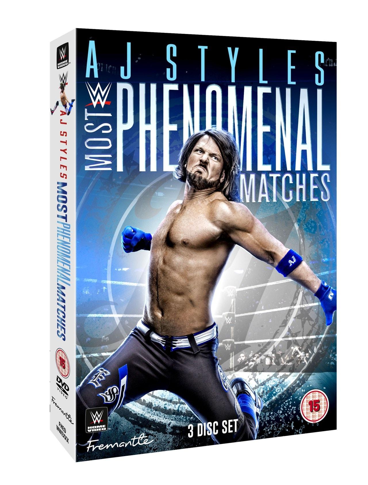 WWE: AJ Styles - Most Phenomenal Matches - 1