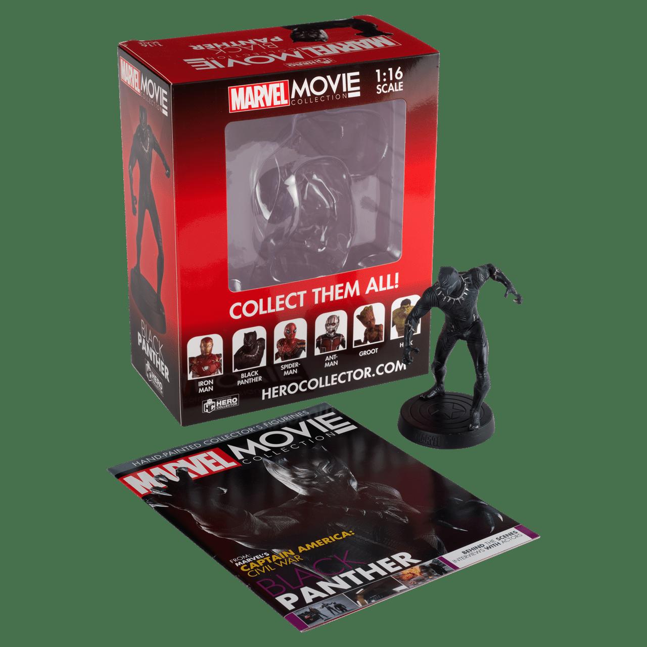 Black Panther: Marvel Figurine: Hero Collector - 2