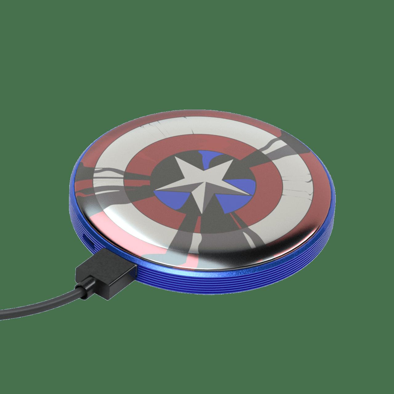 Tribe Marvel Captain America 4000mAh Light Up Power Bank - 1