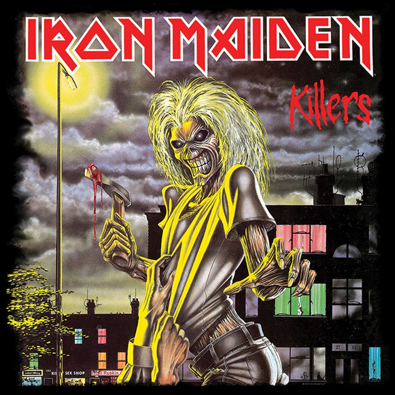 Iron Maiden: Killers Canvas Print - 1