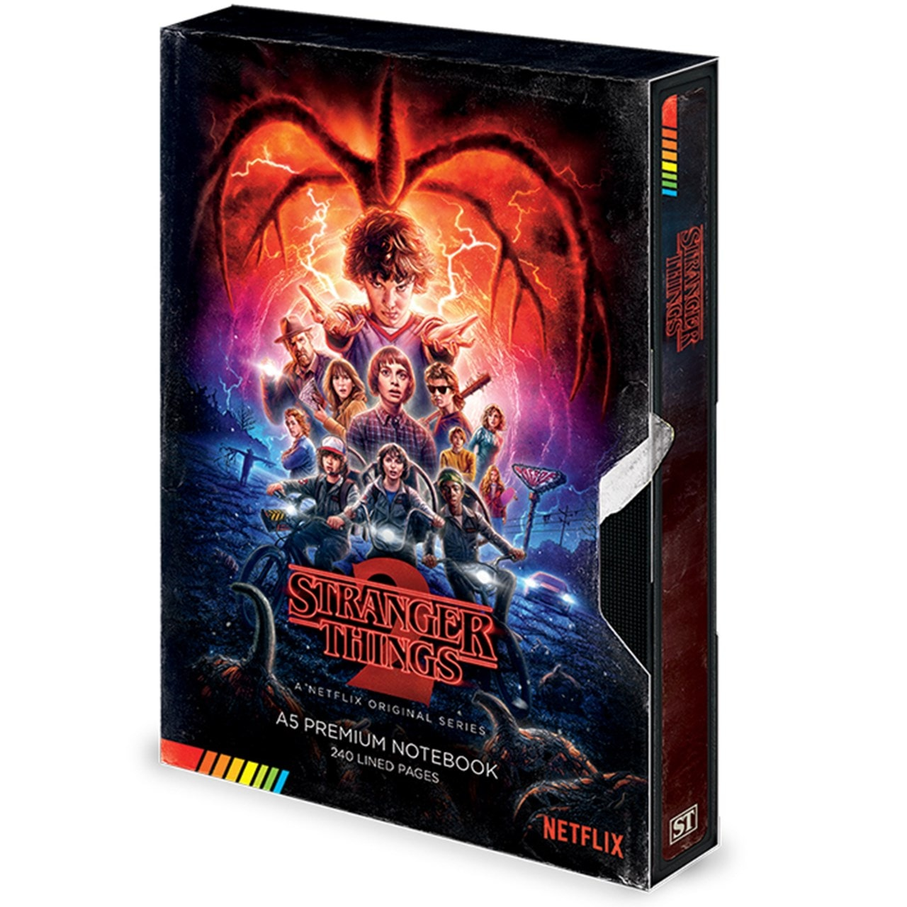 Stranger Things (S2) VHS A5 Premium Notebook - 1