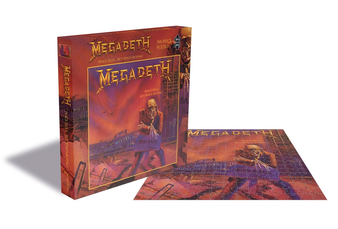 Megadeth: Peace Sells...But Who's Buying? 500 Piece Jigsaw Puzzle - 1