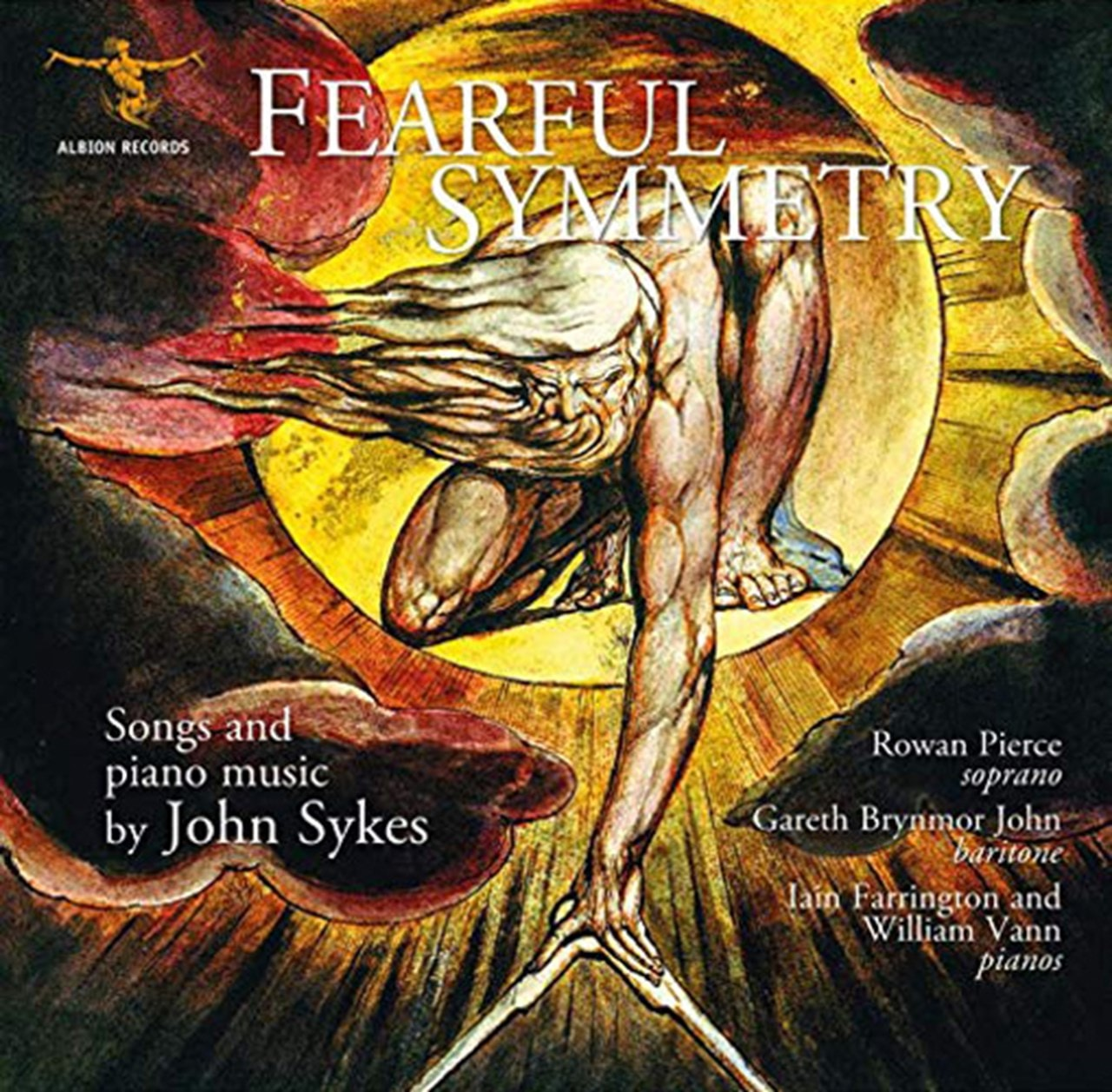 Fearful Symmetry: Songs and Piano Music By John Sykes - 1