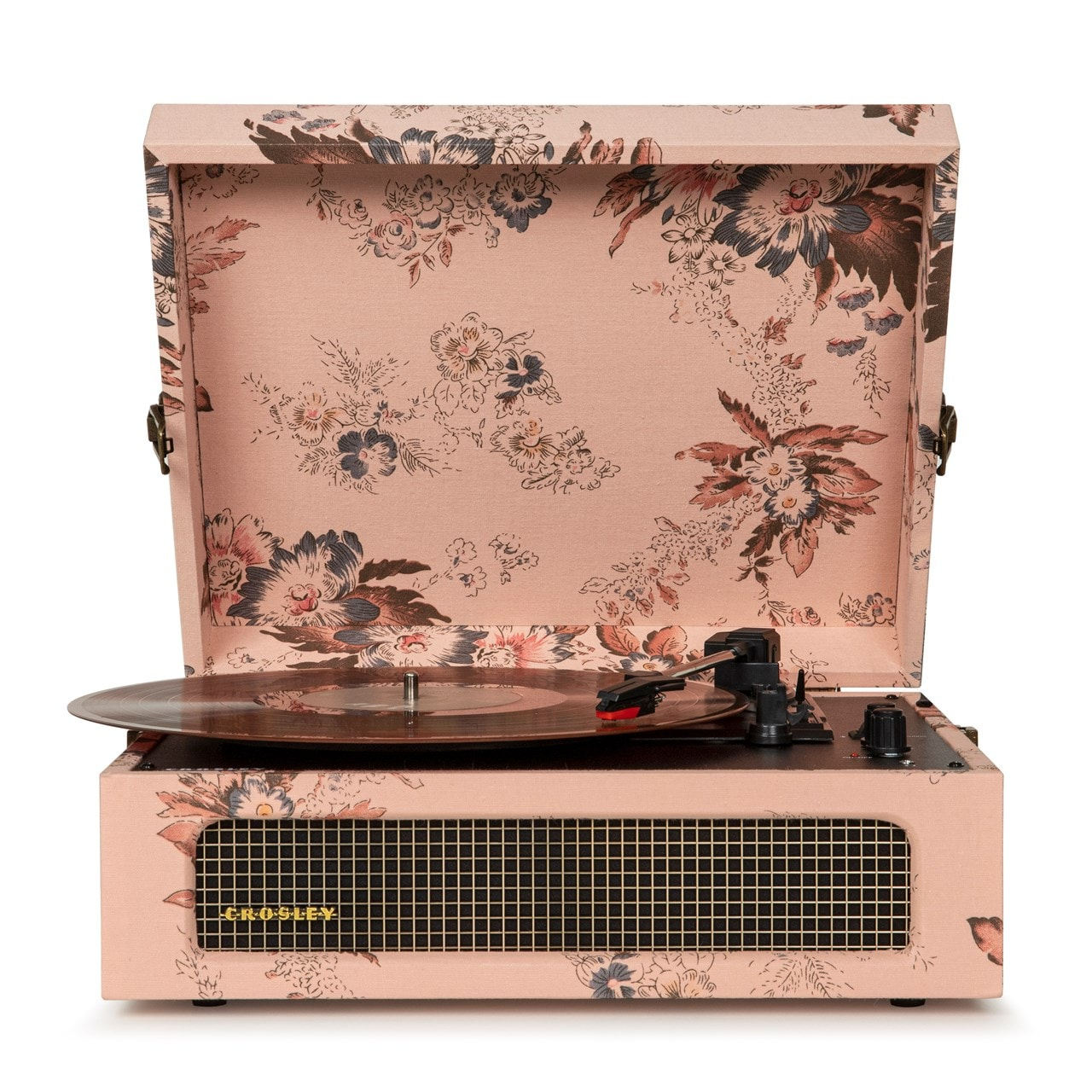 Crosley Voyager Floral Turntable - 1