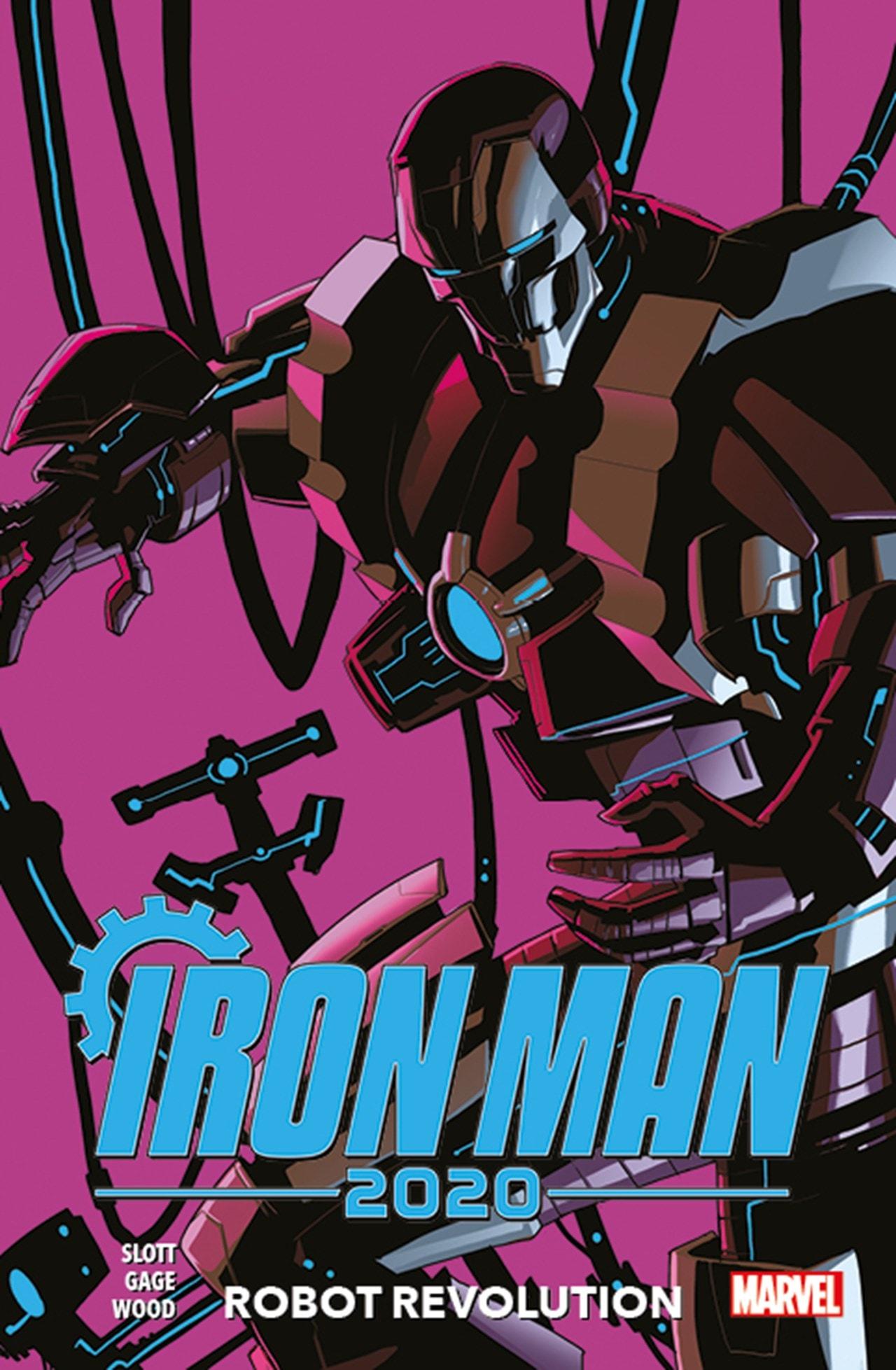 Iron Man 2020 : Robot Revolution - 1