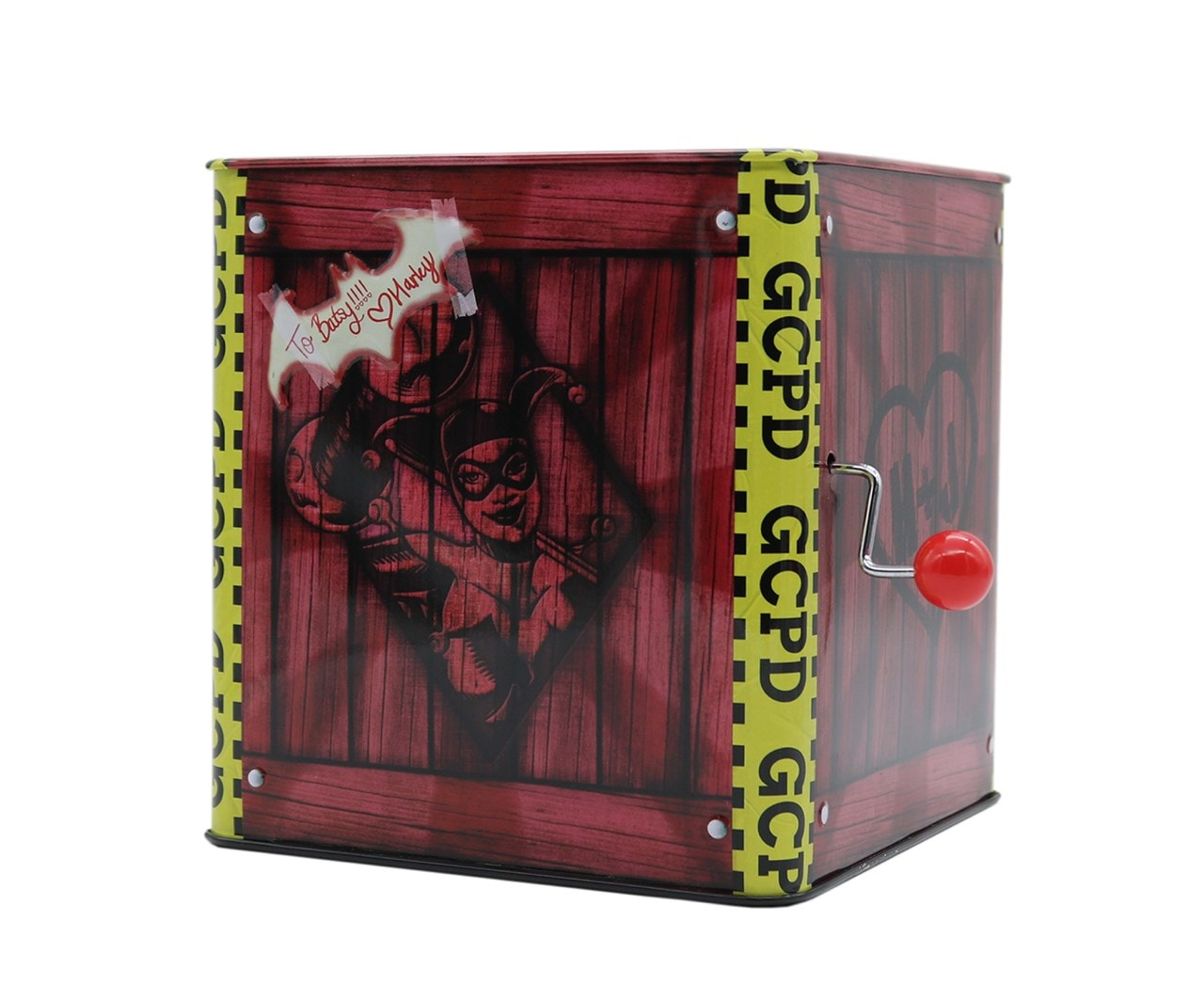 Harley Quinn: Jack-In-The-Box Collectible - 4