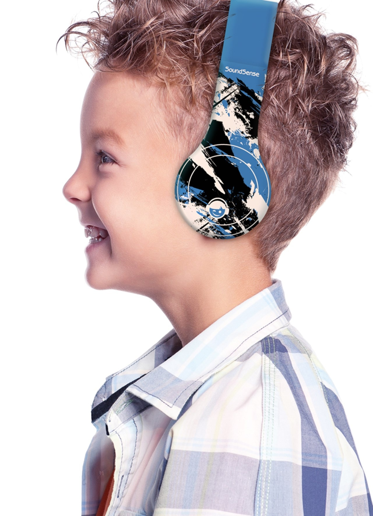 Roam Soundsense Blue Kids Headphones - 4