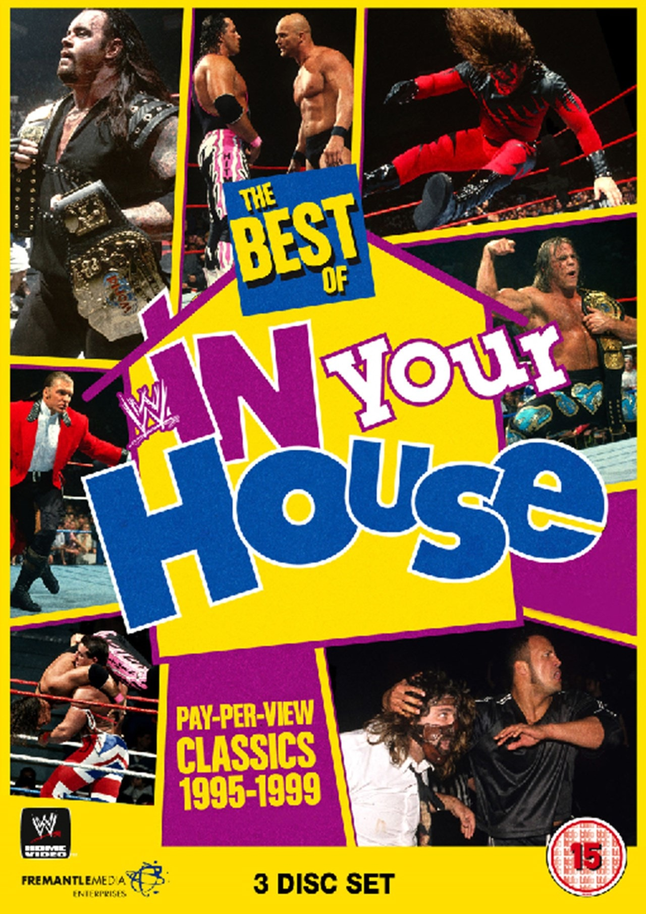 Wwe The Best Of In Your House Dvd Box Set Free Shipping Over 20 Hmv Store