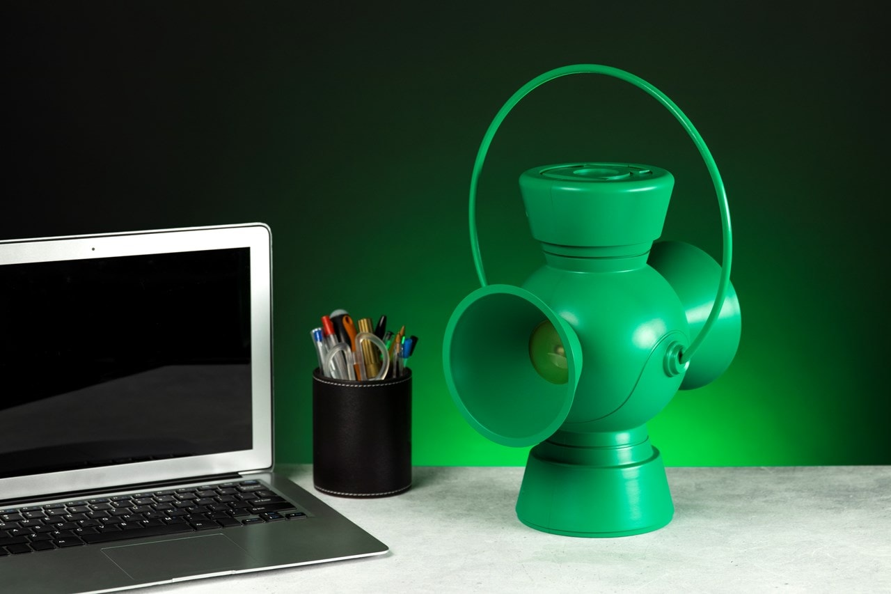 Green Lantern Lamp (online only) - 2