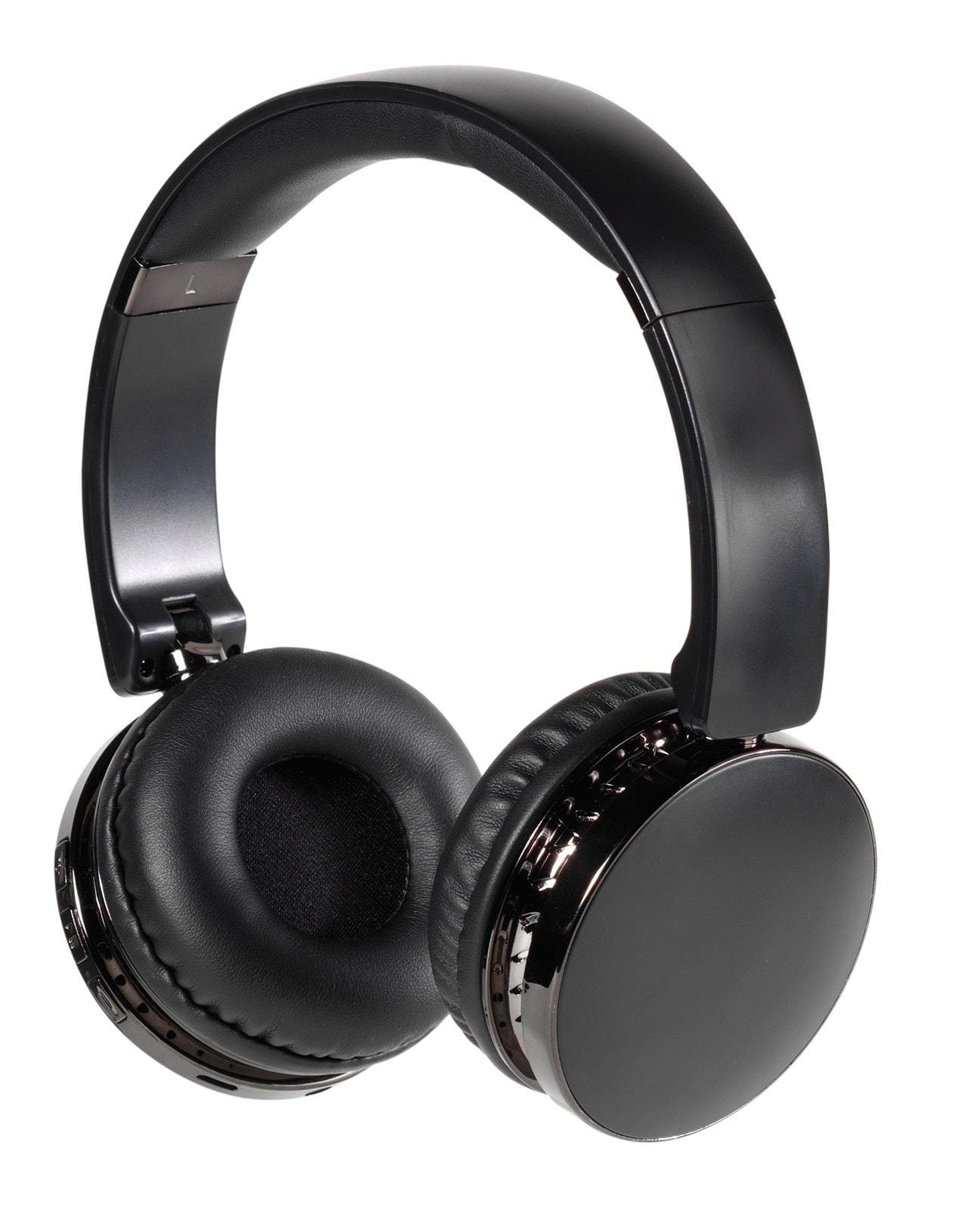 Vivanco Neos Black Bluetooth Headphones - 1