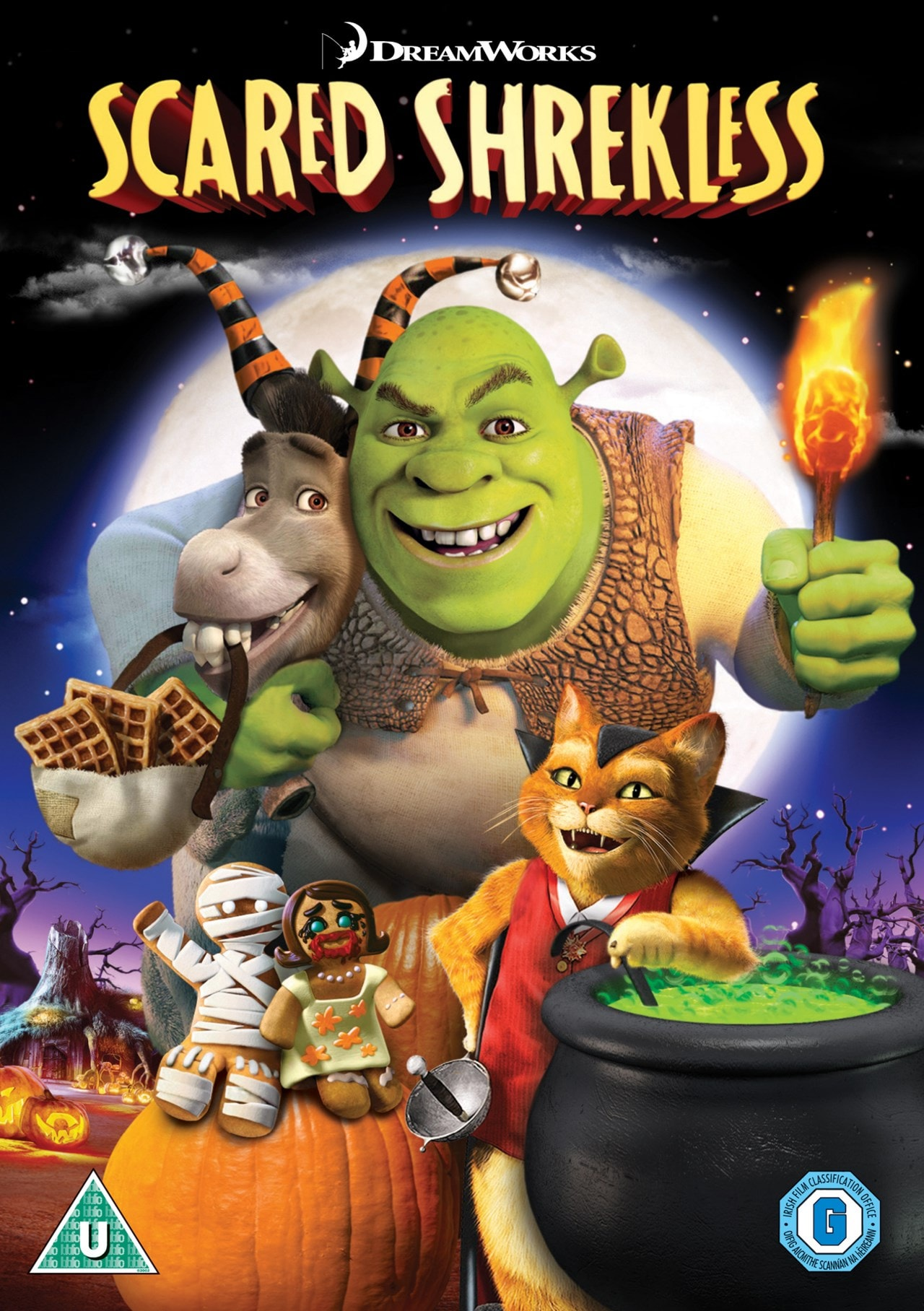 Scared Shrekless: Spooky Story Collection - 1