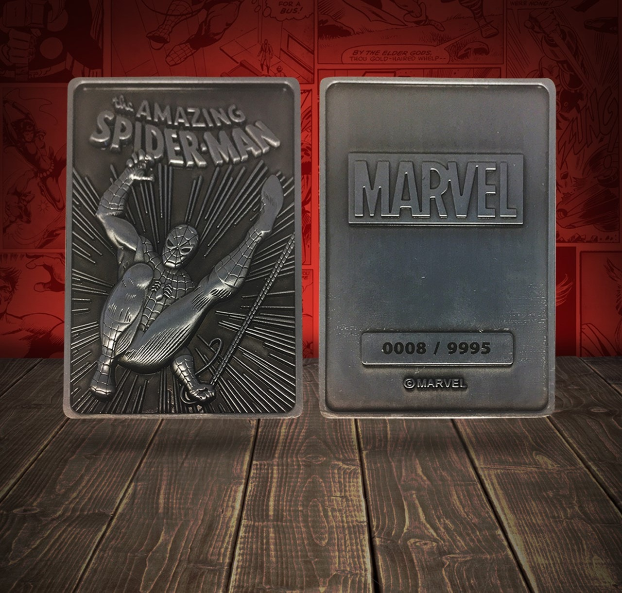 Spider-Man: Marvel Limited Edition Ingot Collectible - 4