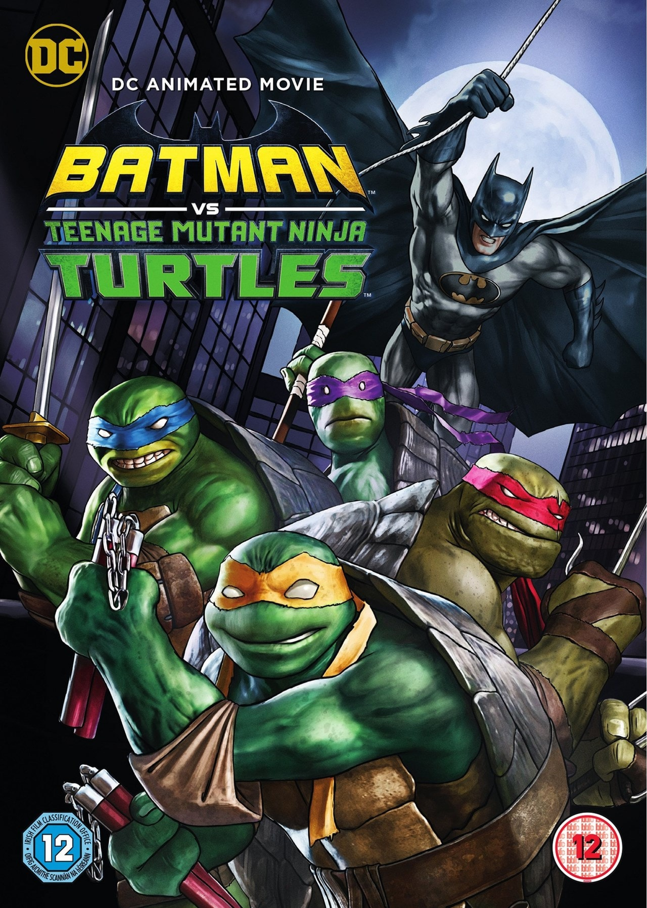 Batman Vs. Teenage Mutant Ninja Turtles - 1
