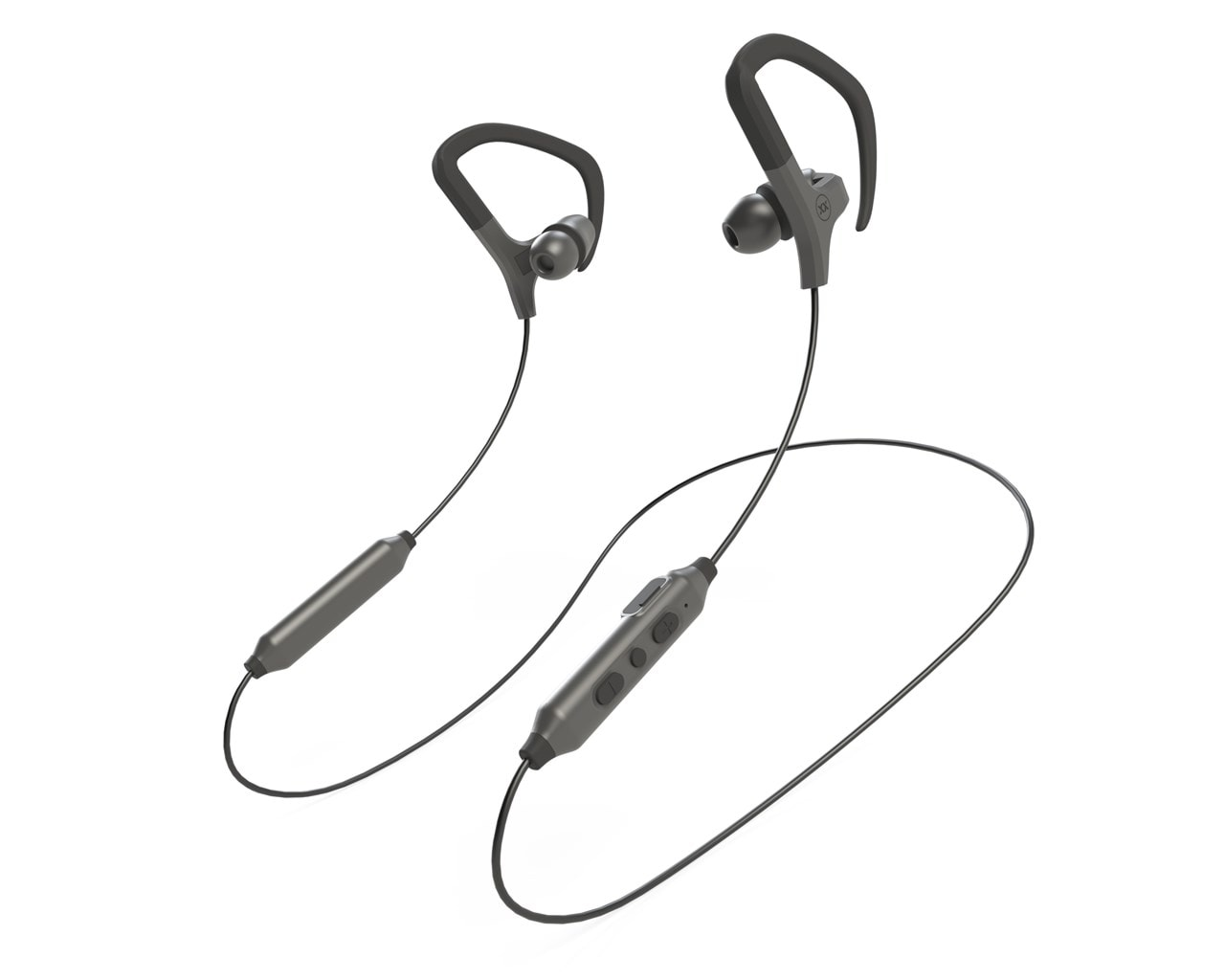 Mixx Audio Cardio Air Black Sports Bluetooth Earphones - 1