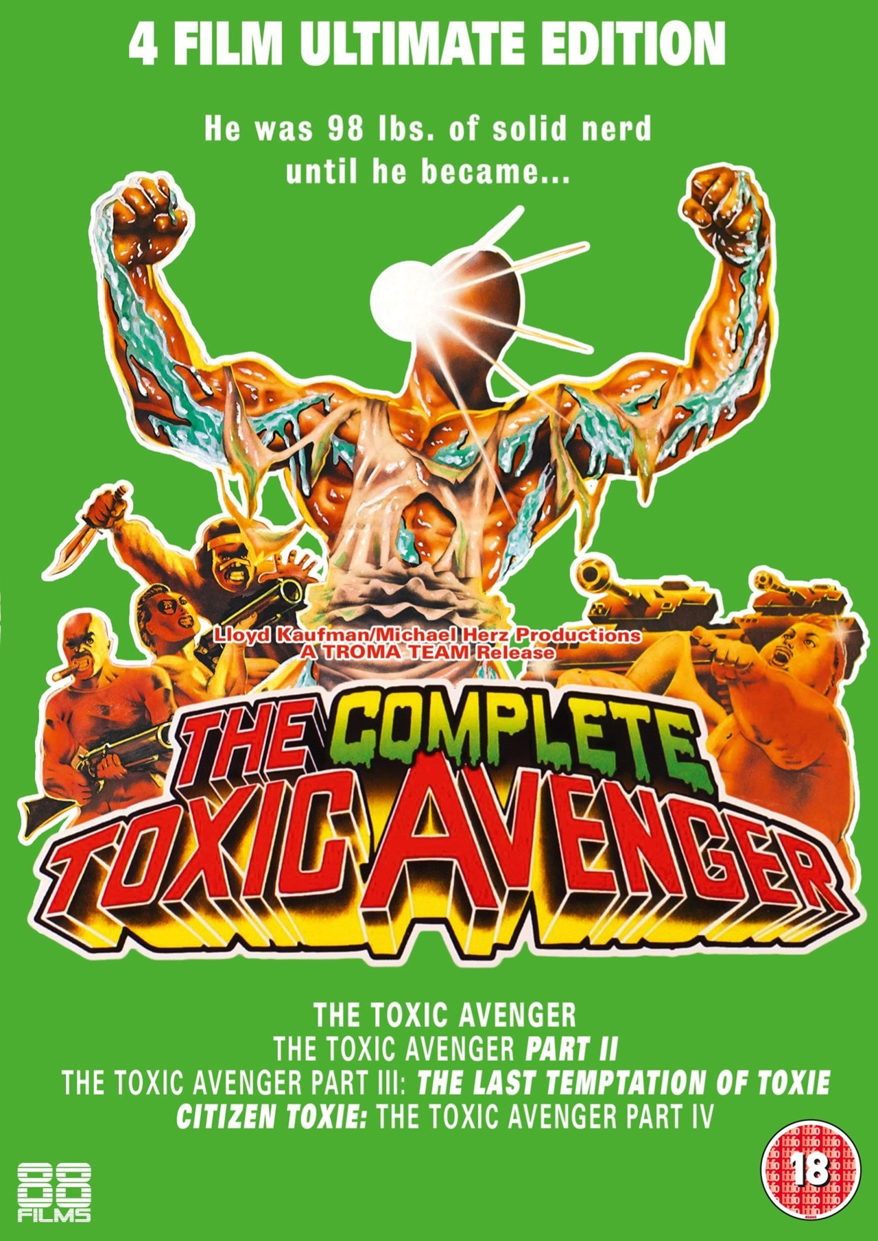 The Complete Toxic Avenger - 1