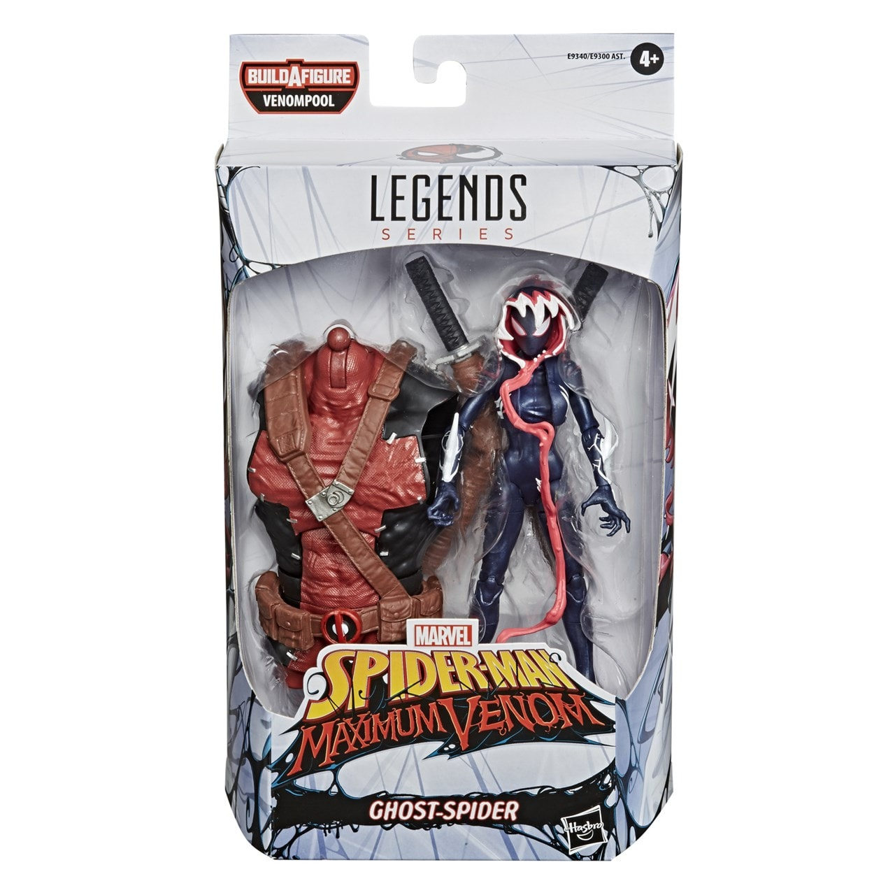 Marvel Legends: Ghost Spider (Venom) Action Figure - 4