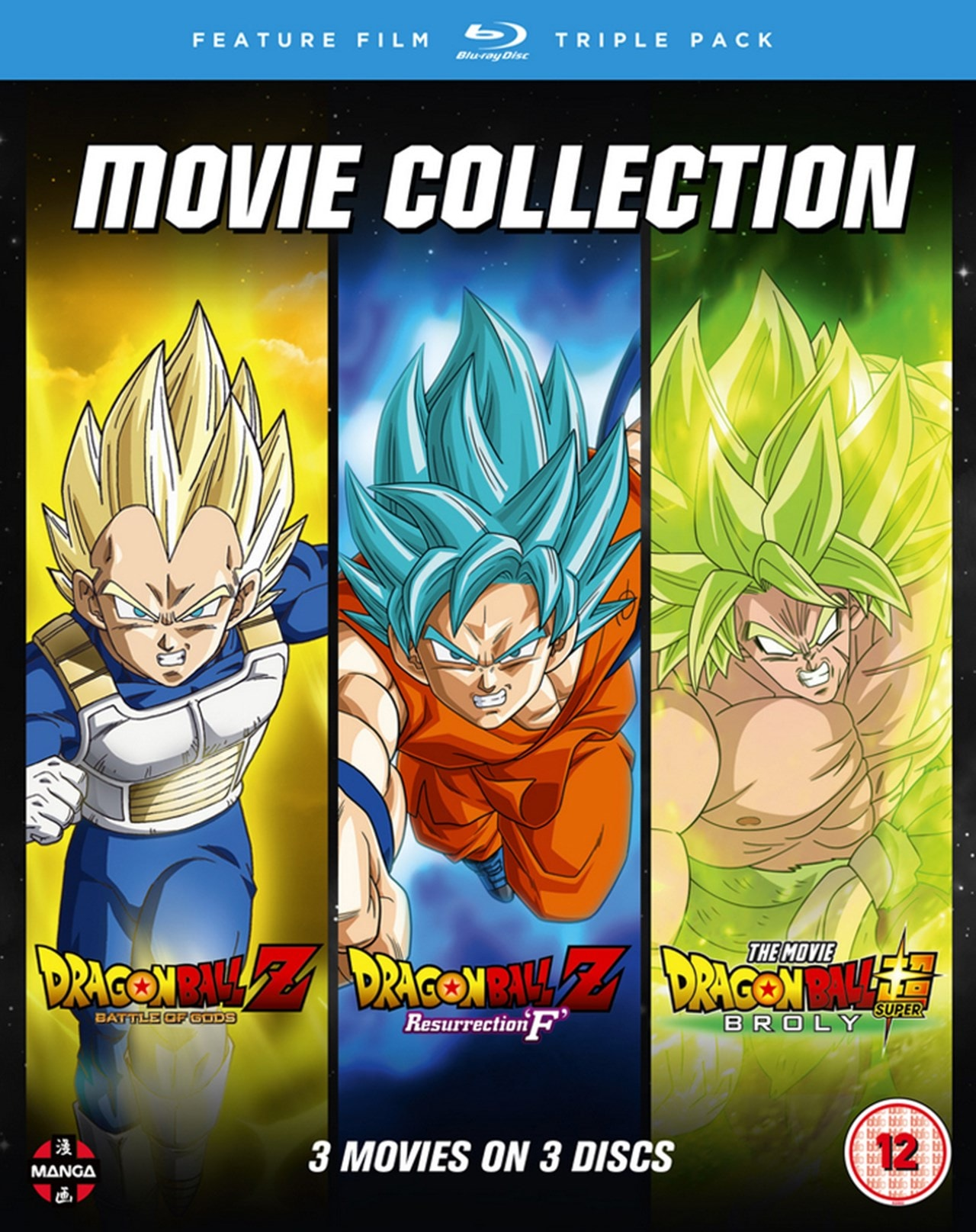 Dragon Ball Trilogy: Battle of Gods/Resurrection 'F', Broly - 1