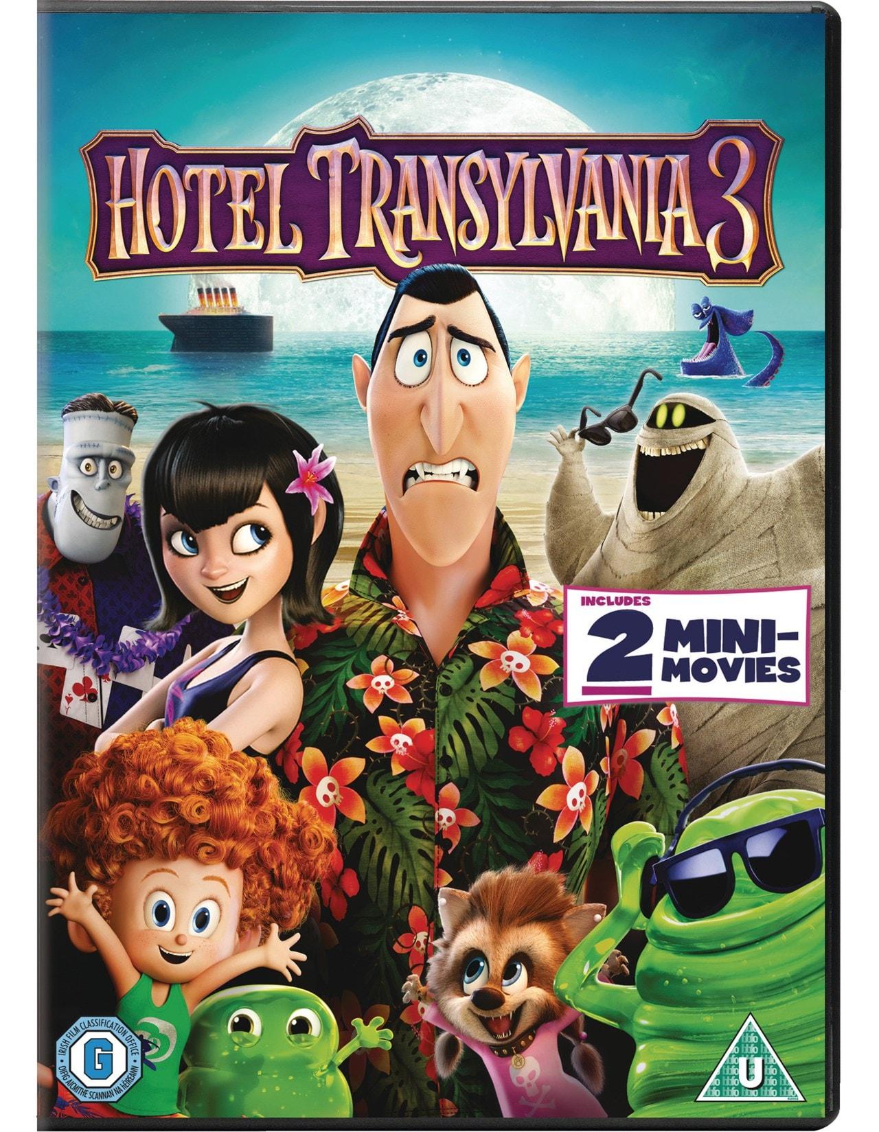 Hotel Transylvania 3 Dvd Free Shipping Over 20 Hmv Store