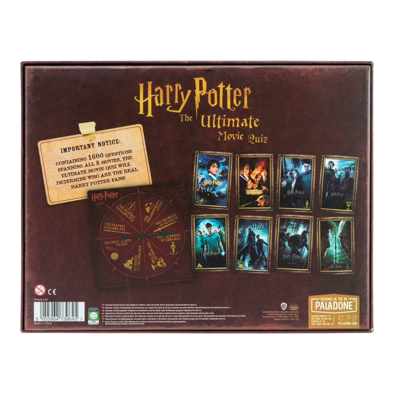 Harry Potter Ultimate Movie Quiz (online only) - 5