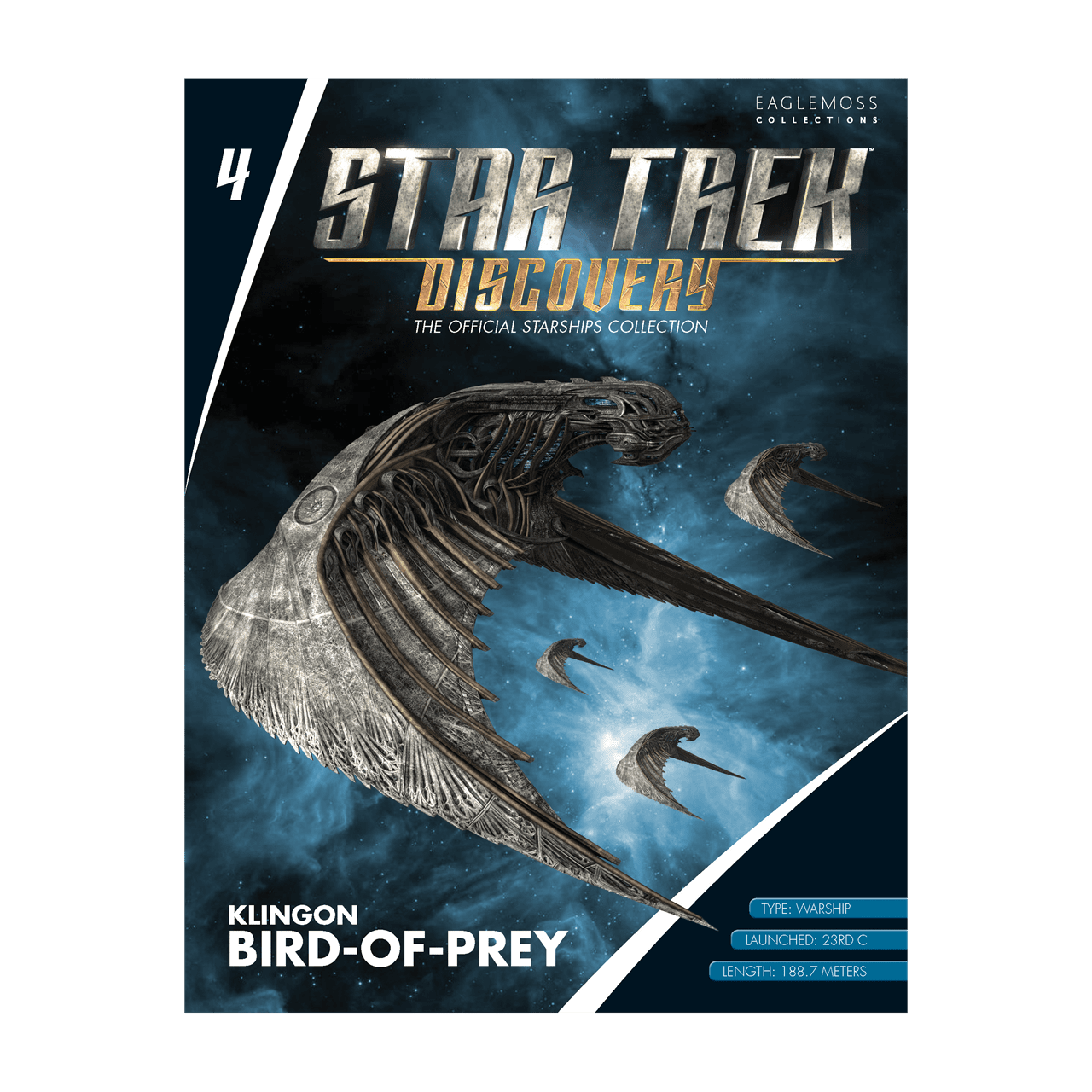 Star Trek Discovery: Klingon Bird-of-Prey Starship Hero Collector - 3