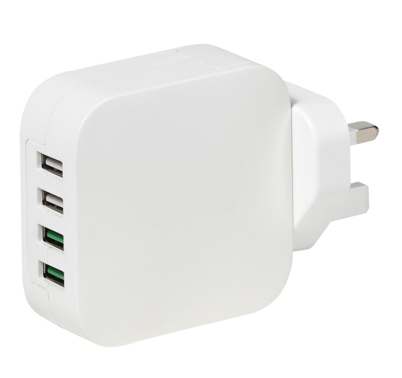 Vivanco USB Multi Port Plug With Quick Charge Port - 1