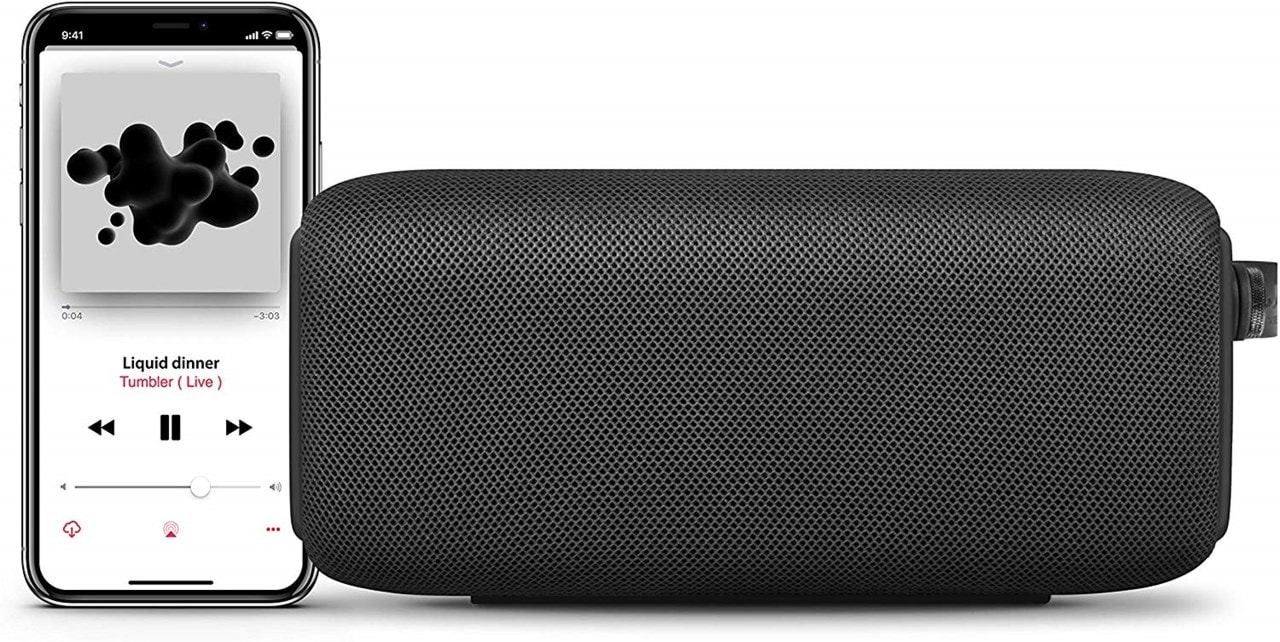 Fresh n Rebel Bold M Storm Grey Bluetooth Speaker - 2