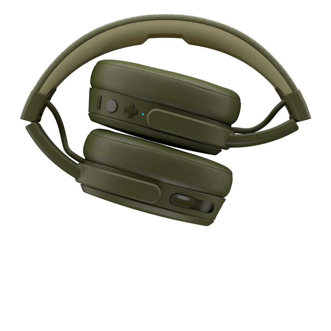 Skullcandy Crusher Moss/Olive/Yellow Bluetooth Headphones - 4
