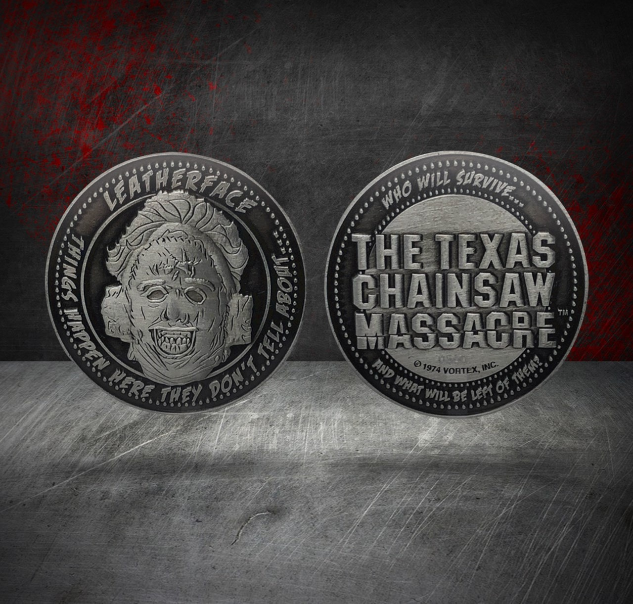 Texas Chainsaw Massacre: Limited Edition Coin - 1