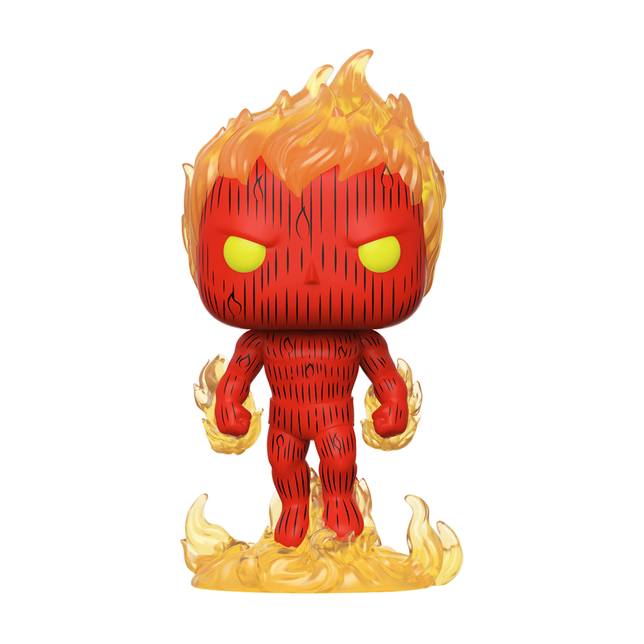 Human Torch (559) Fantastic Four: Marvel Pop Vinyl - 1
