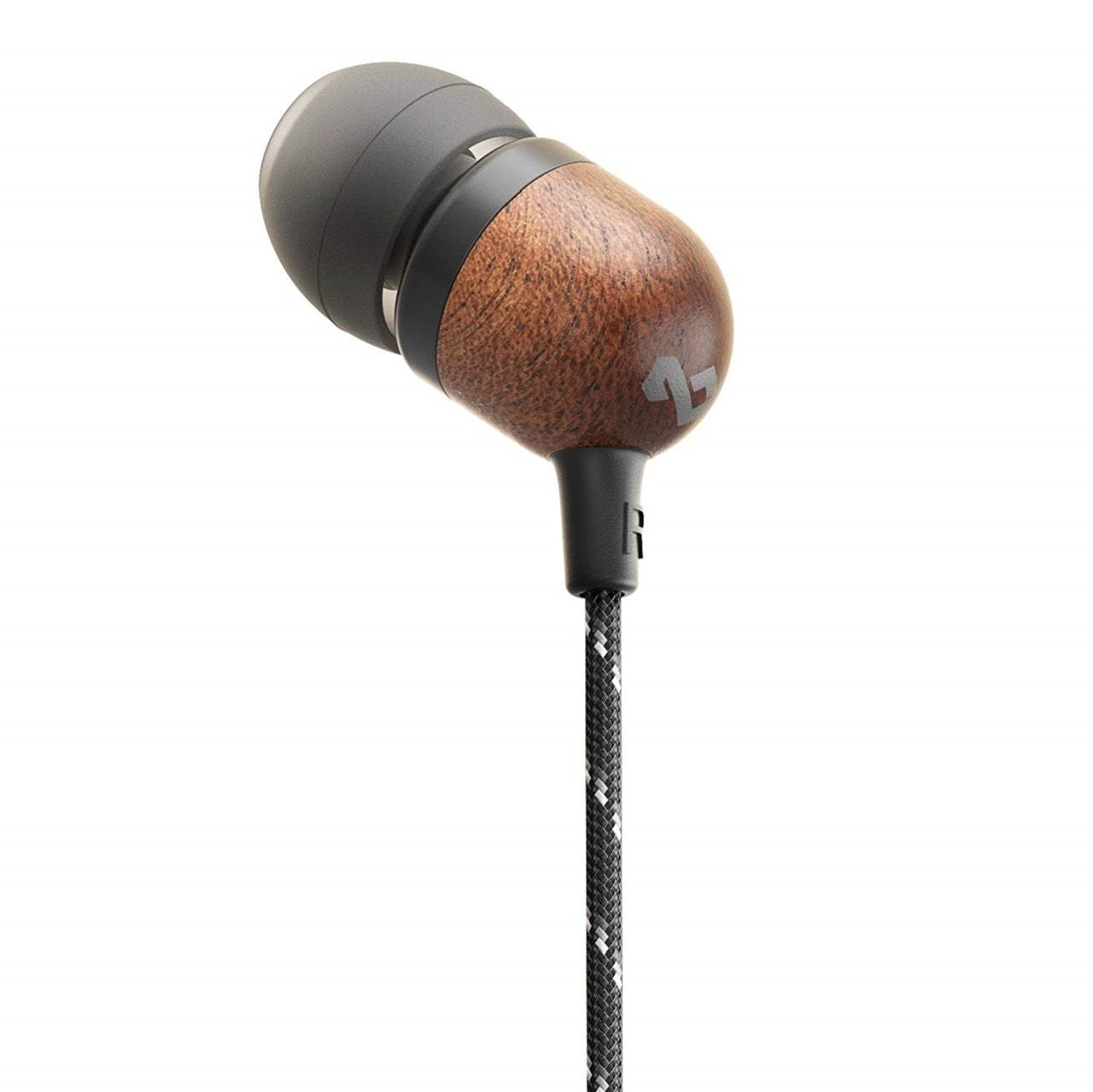 House Of Marley Smile Jamaica BT Signature Black Bluetooth Earphones - 3