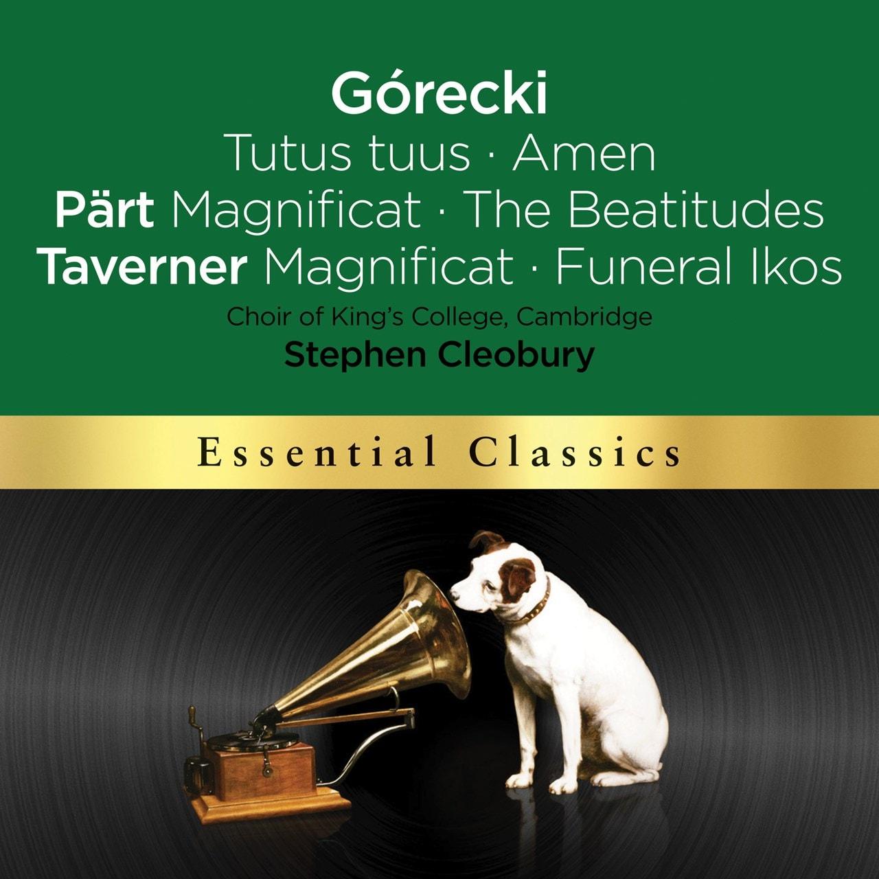 Gorecki: Tuts Tuus/Amen/Part: Magnificat/The Beatitudes/... - 1