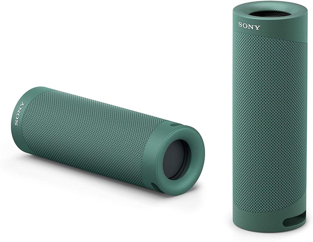 Sony SRSXB23 Green Bluetooth Speaker - 4
