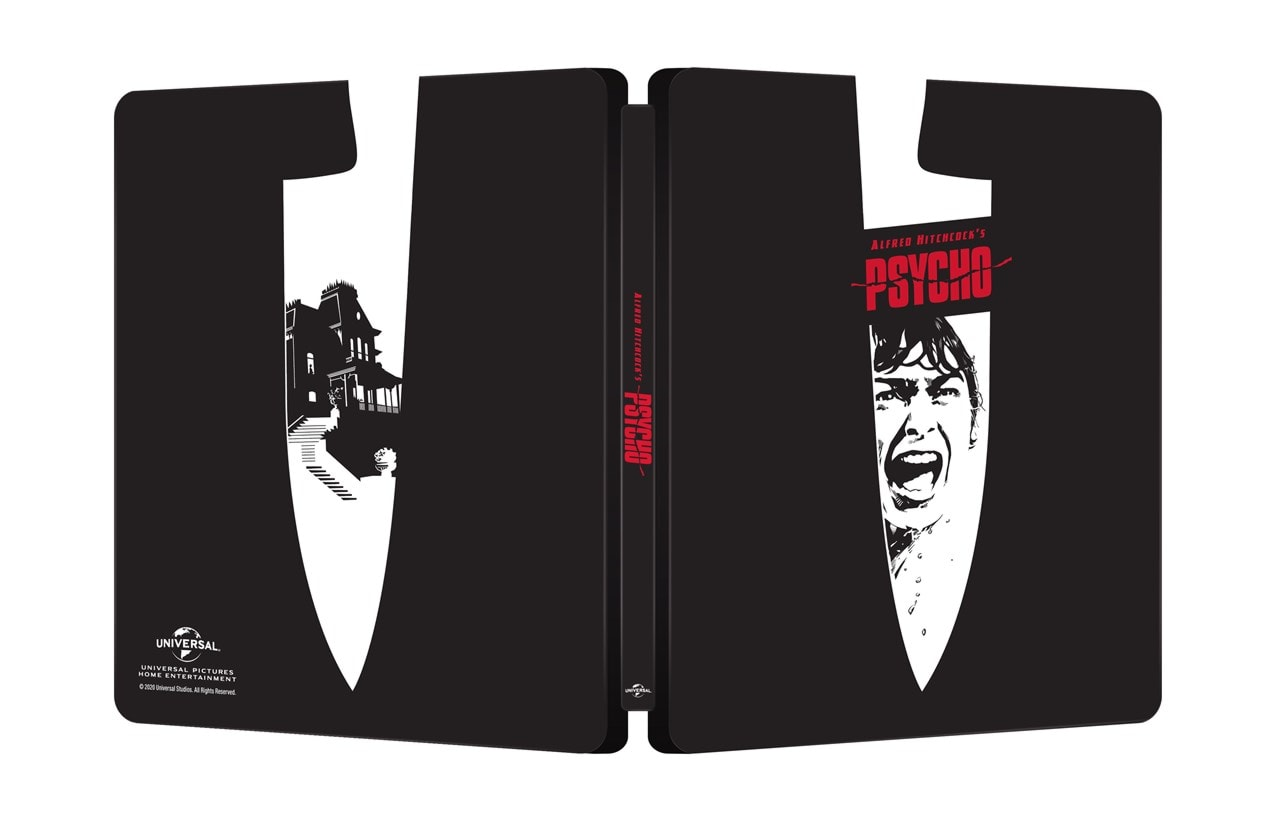 Psycho 60th Anniversary Limited Edition 4K Ultra HD Steelbook - 3