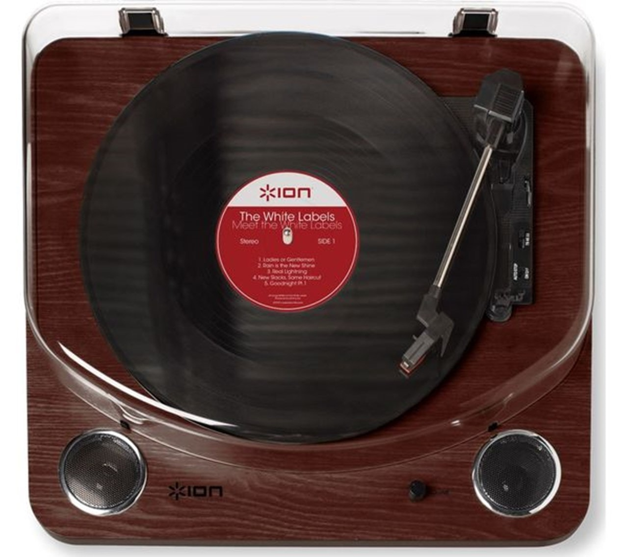 Ion Max LP Dark Wood USB Conversion Turntable - 3