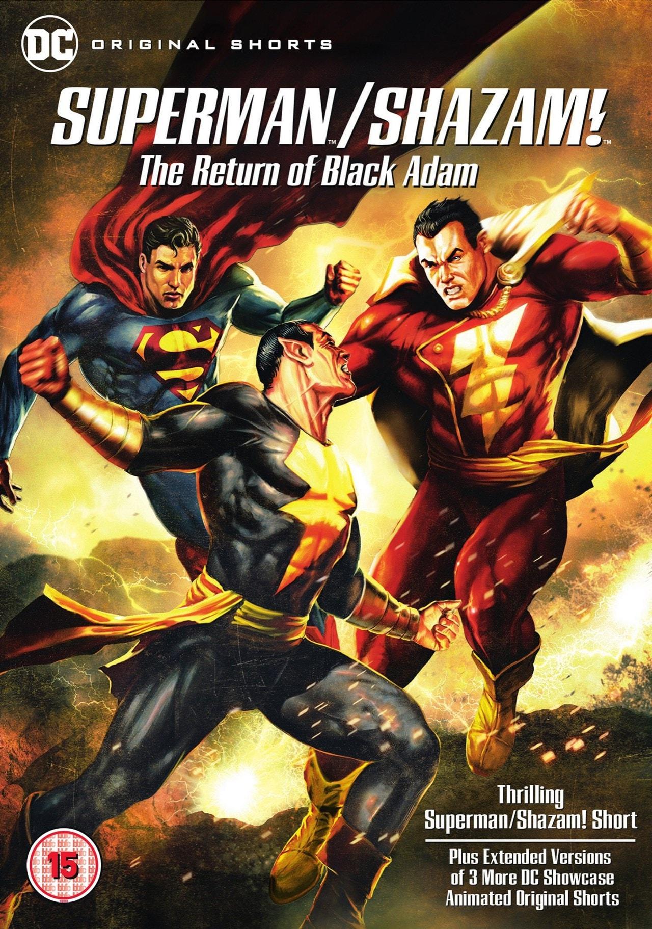 Superman/Shazam!: The Return of Black Adam - 1