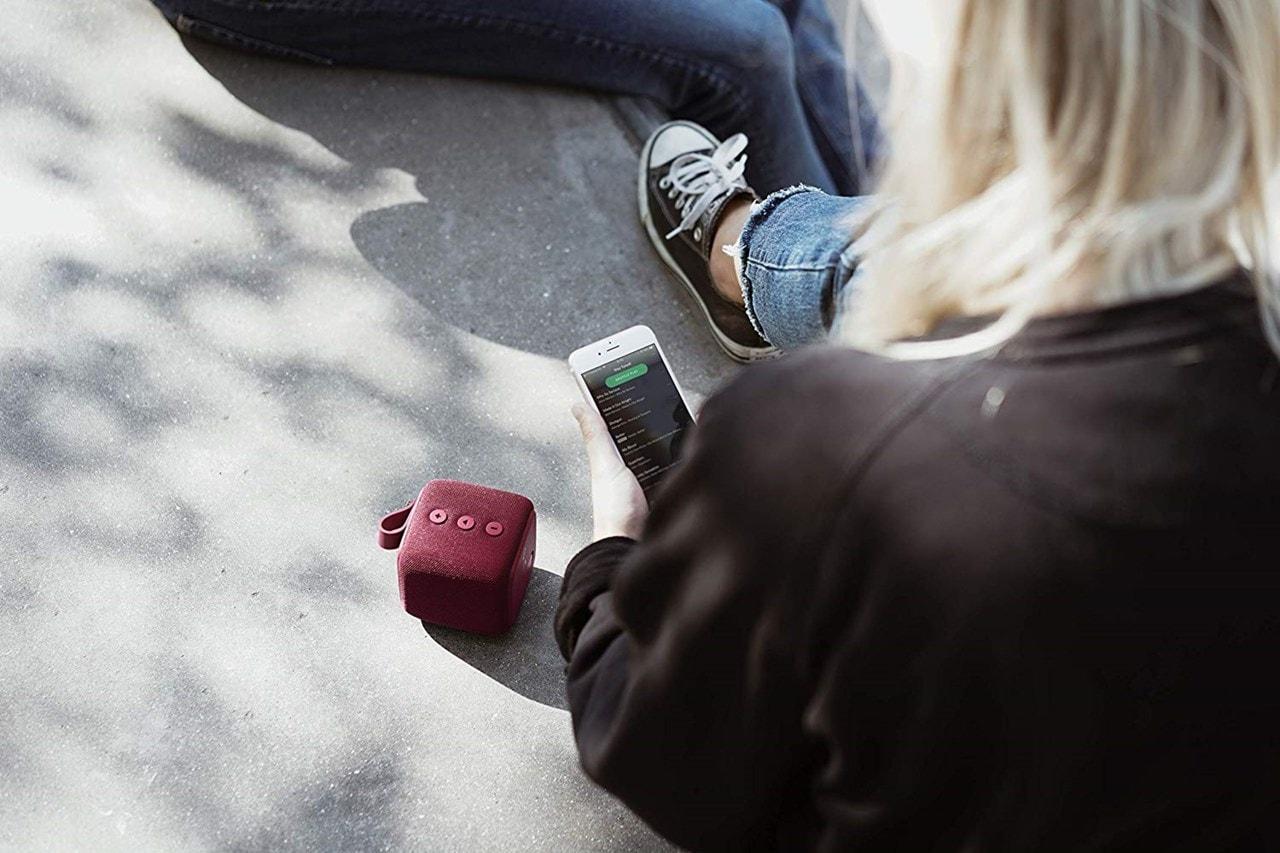 Fresh n Rebel Bold S Ruby Red Bluetooth Speaker - 3