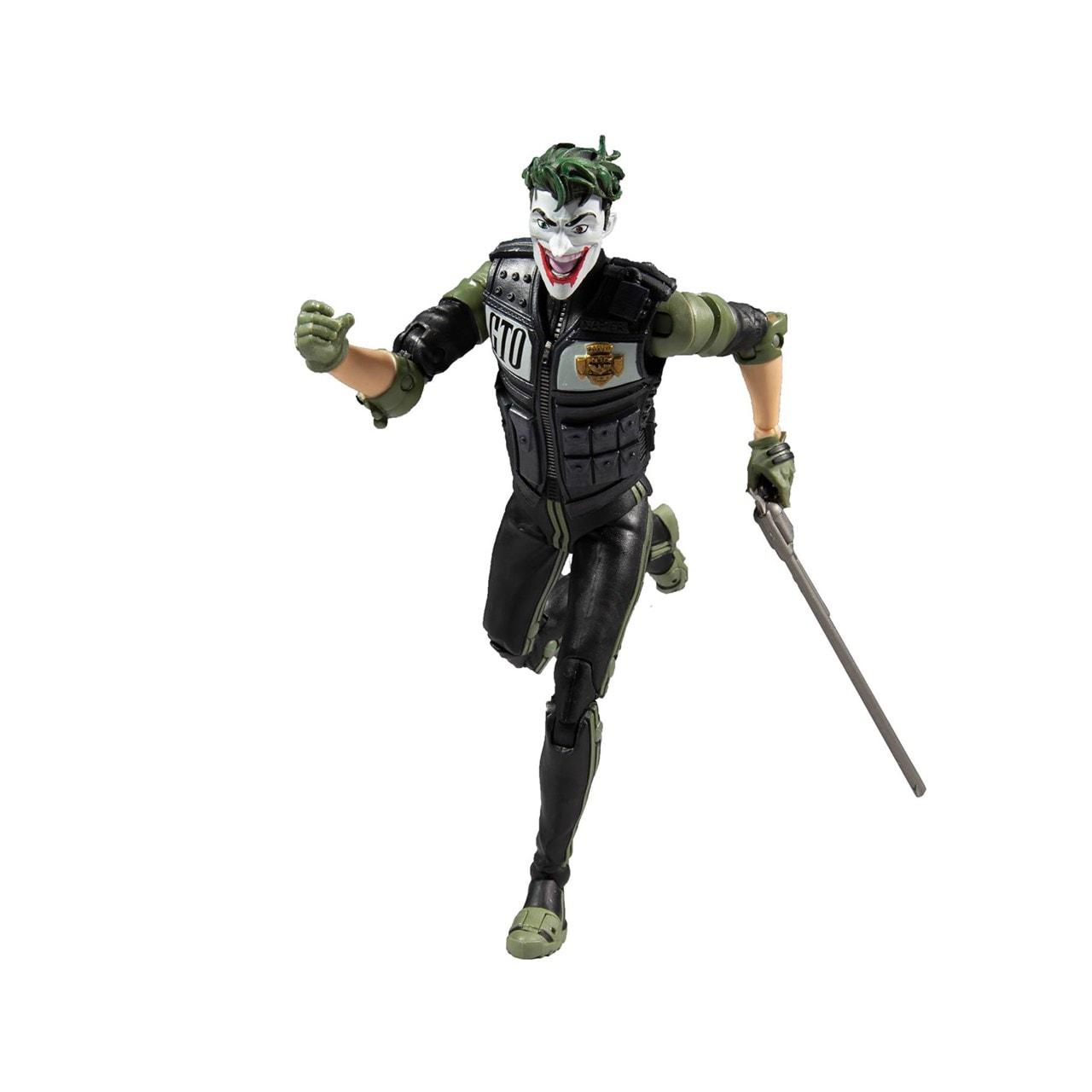 White Knight: Joker (DC Multiverse) Action Figure - 3