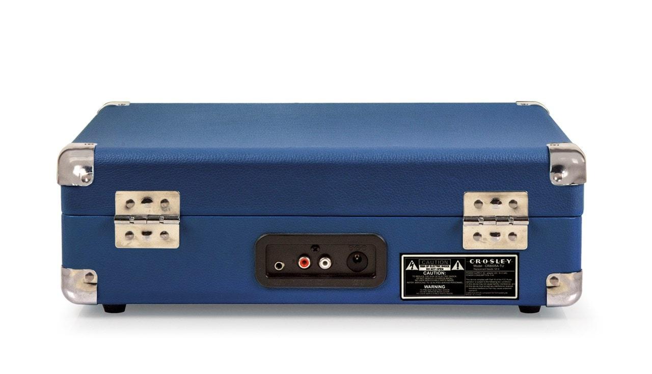 Crosley Cruiser Deluxe Blue Turntable - 5