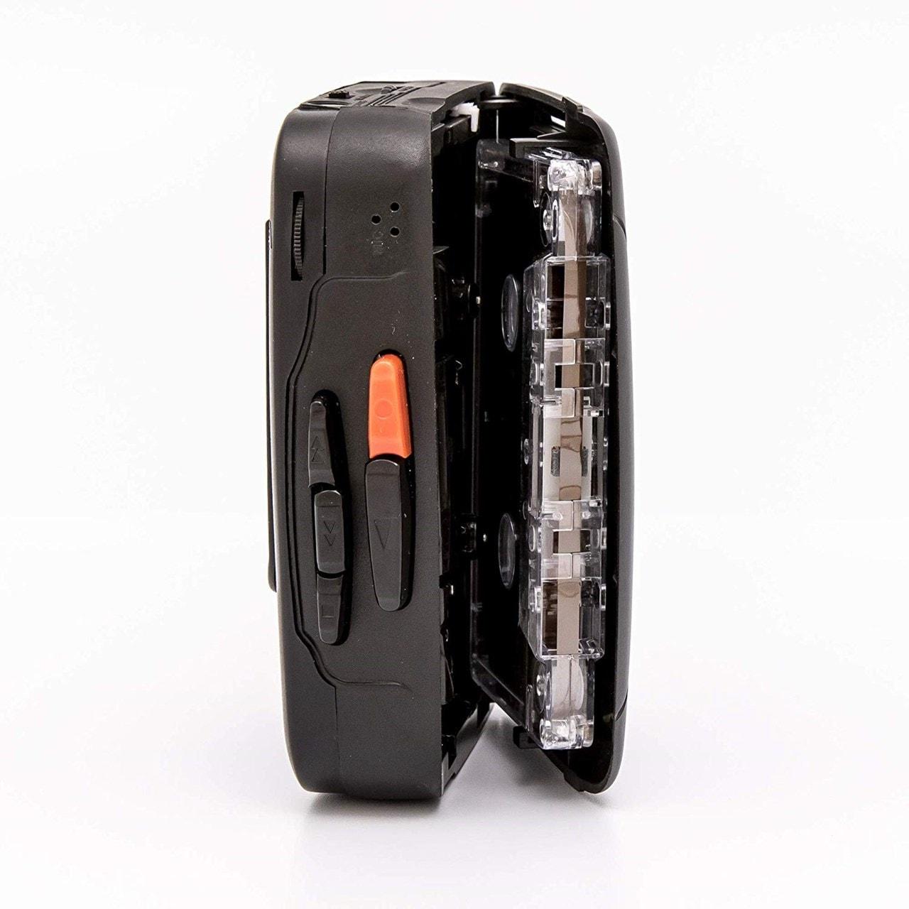 GPO Retro Black Portable Cassette Player - 4