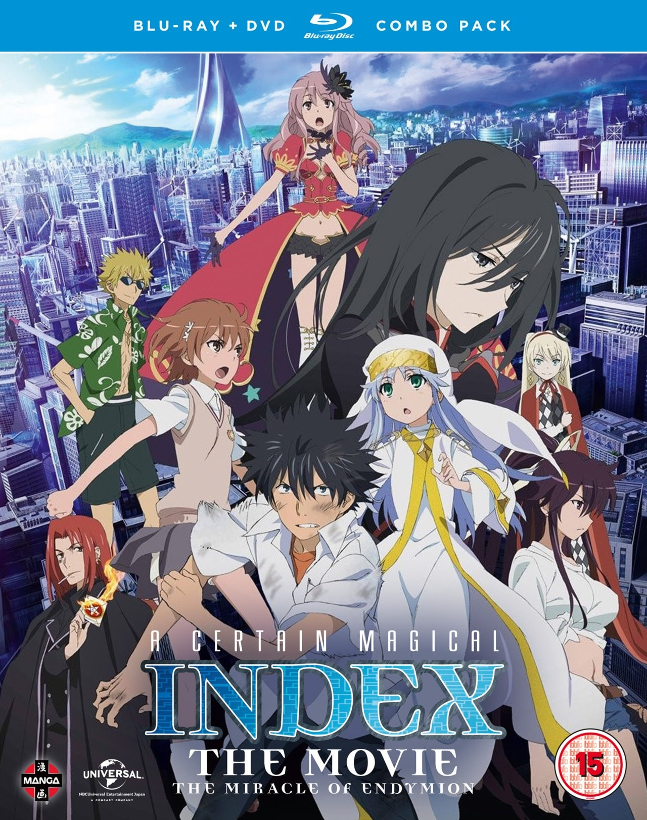 A Certain Magical Index: The Movie - The Miracle of Endymion - 1