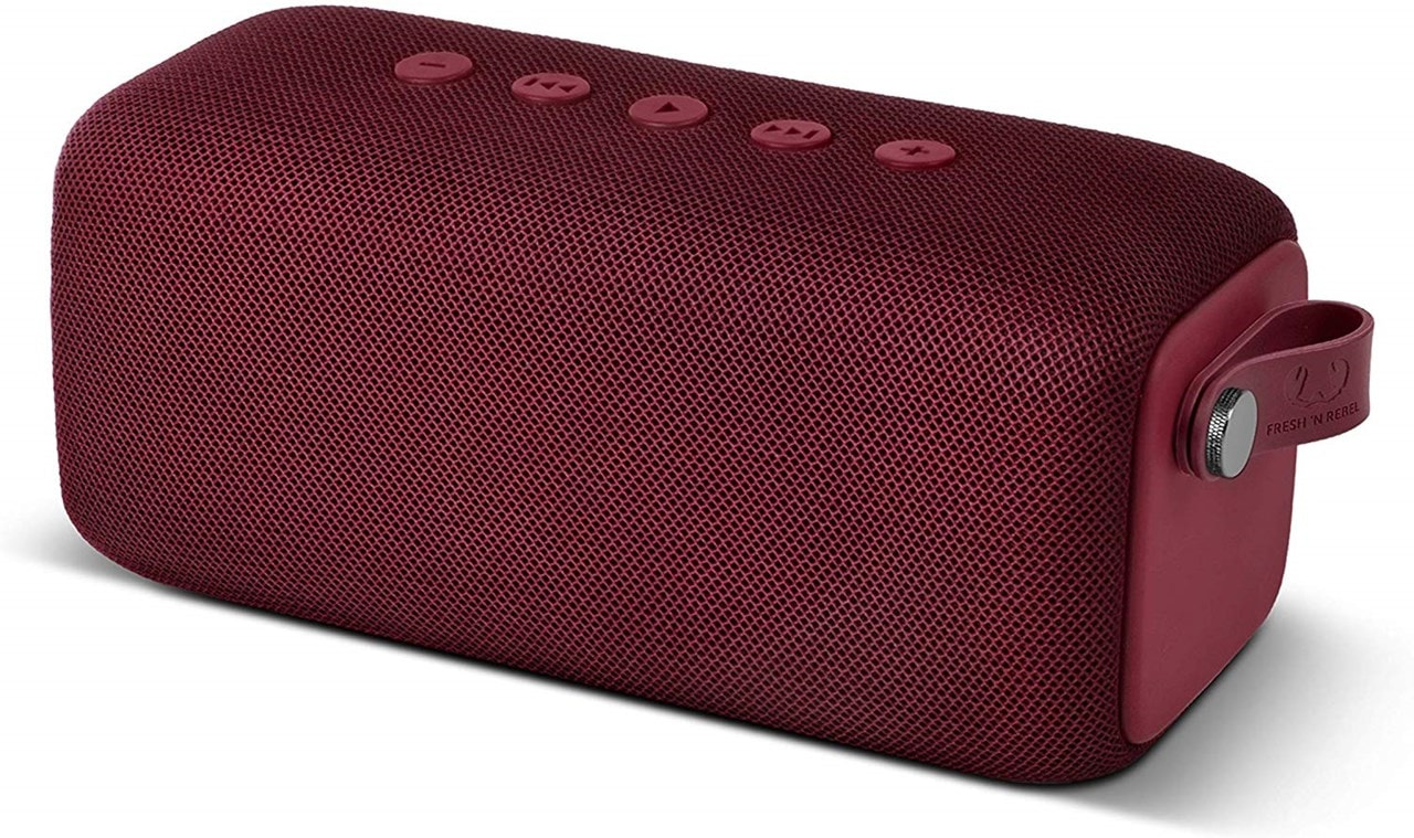 Fresh n Rebel Bold M Ruby Red Bluetooth Speaker - 1
