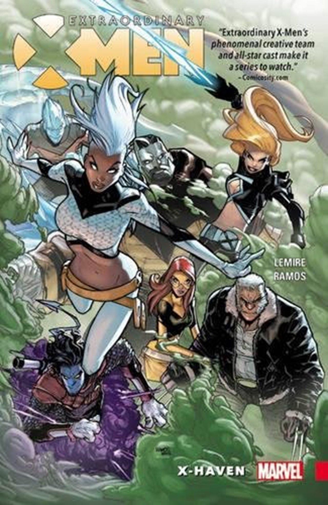 Extraordinary X-Men Vol. 1: X-Haven - 1